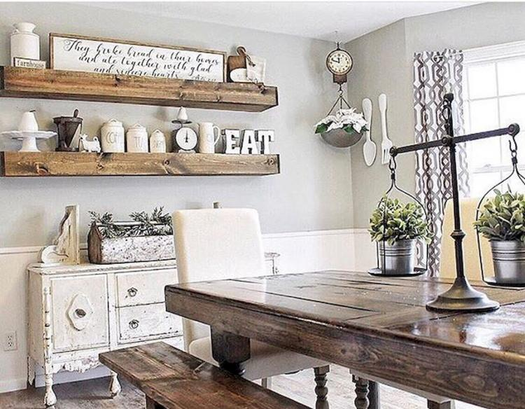 Farmhouse Dining Room Ideas: 85+ Unusual Farmhouse Dining Room Design Ideas