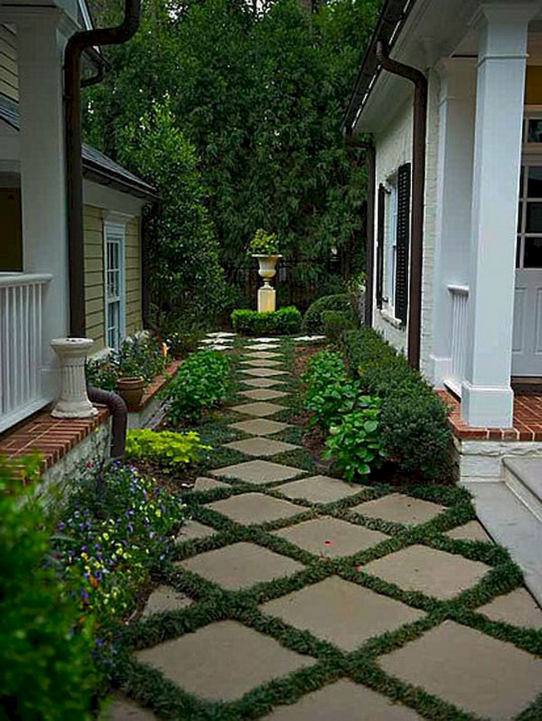 60+ Amazing Small Maintenance Backyard Garden Landscaping ...
