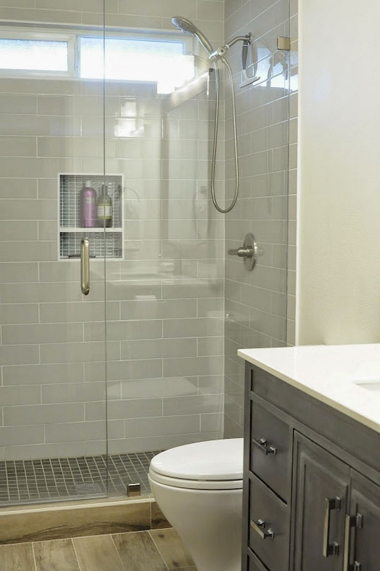 41 cool small master bathroom remodel ideas on a budget
