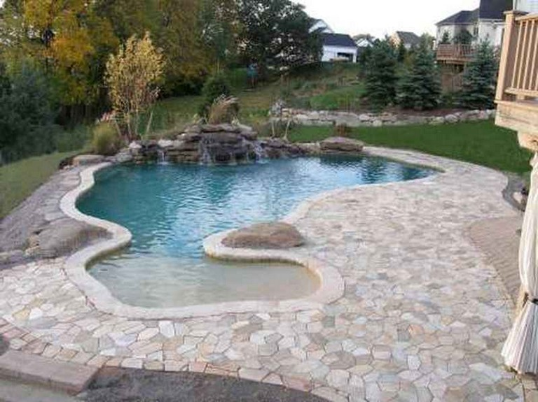 46 Best Backyard Beach Pool Design Ideas