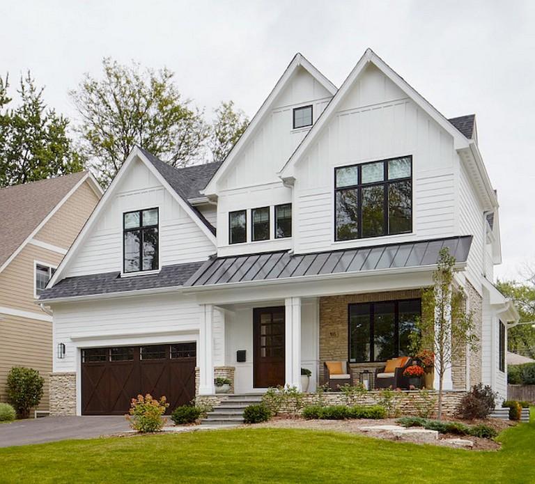 Home Design Ideas Exterior Photos: 53+ Amazing Urban Farmhouse Exterior Design Ideas