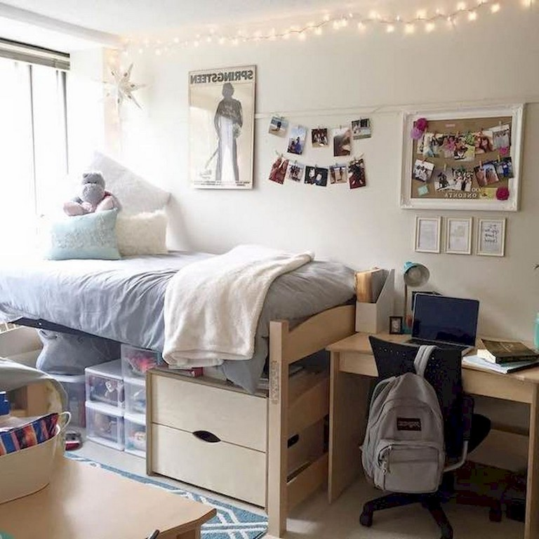 75+ Amazing & Creative DIY Dorm Room Decor Ideas on A ...