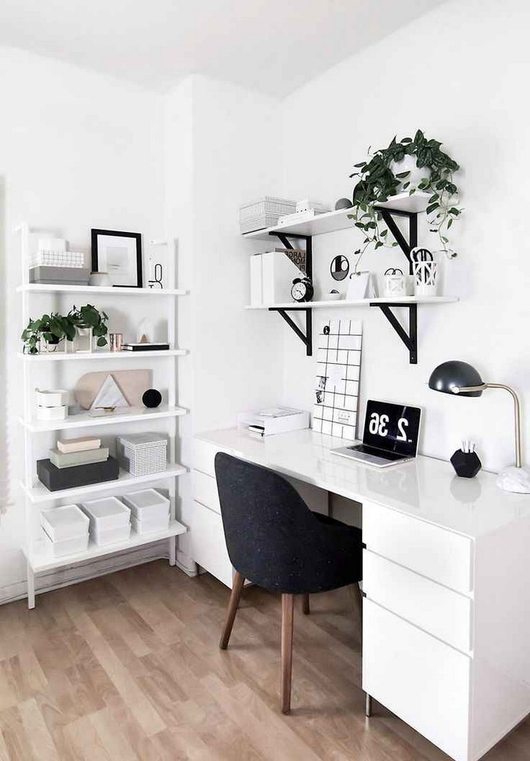 Z Gallerie Dining Table Decor, 55 Elegant Small Space Home Office Decor Ideas