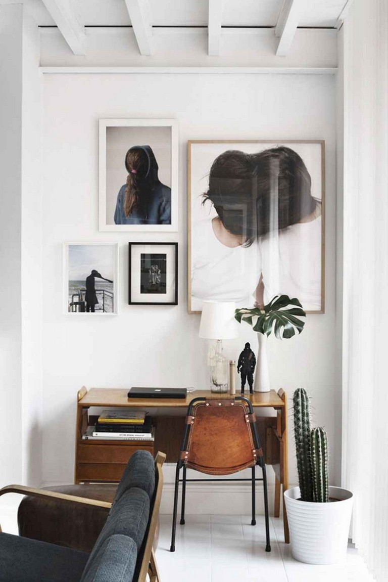 55 Elegant Small Space Home Office Decor Ideas